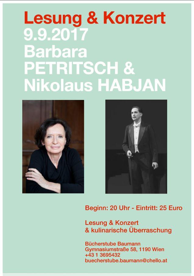 Barbara Petritsch Nikolaus Habjan Pfeifkonzert Lesung